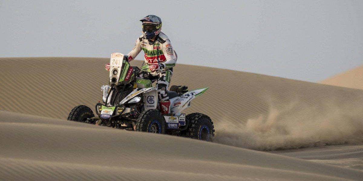 """Dakar: el """"Perro"""" Casale se mantiene firme como líder de las quads, pese a ser 2º de la etapa"""