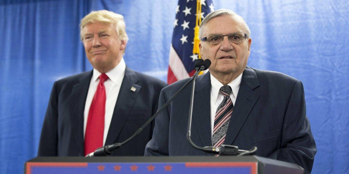 El polémico Joe Arpaio se postula al Senado de EU para ayudar a Trump