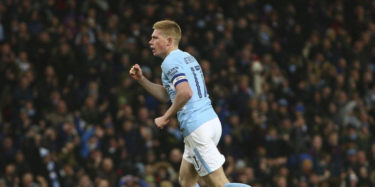 Manchester City consigue apretado triunfo en la Copa de la Liga