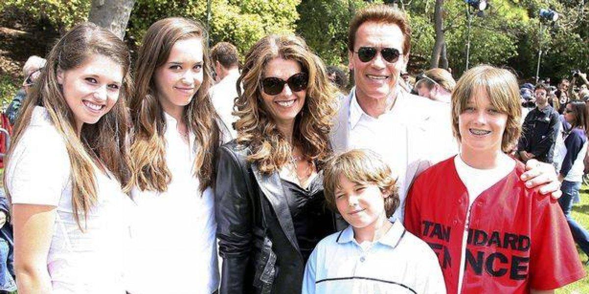 Crueles comentarios contra hijo de Arnold Schwarzenegger por lucir con sobrepeso