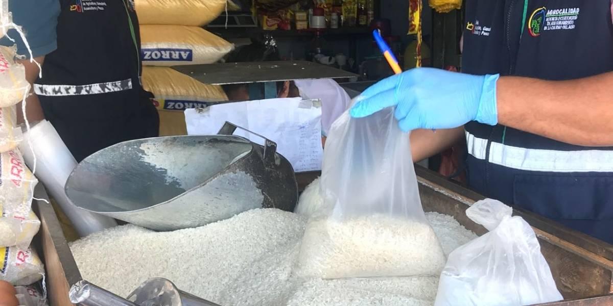 Autoridades ratifican que arroz plástico no se comercializa en Ecuador