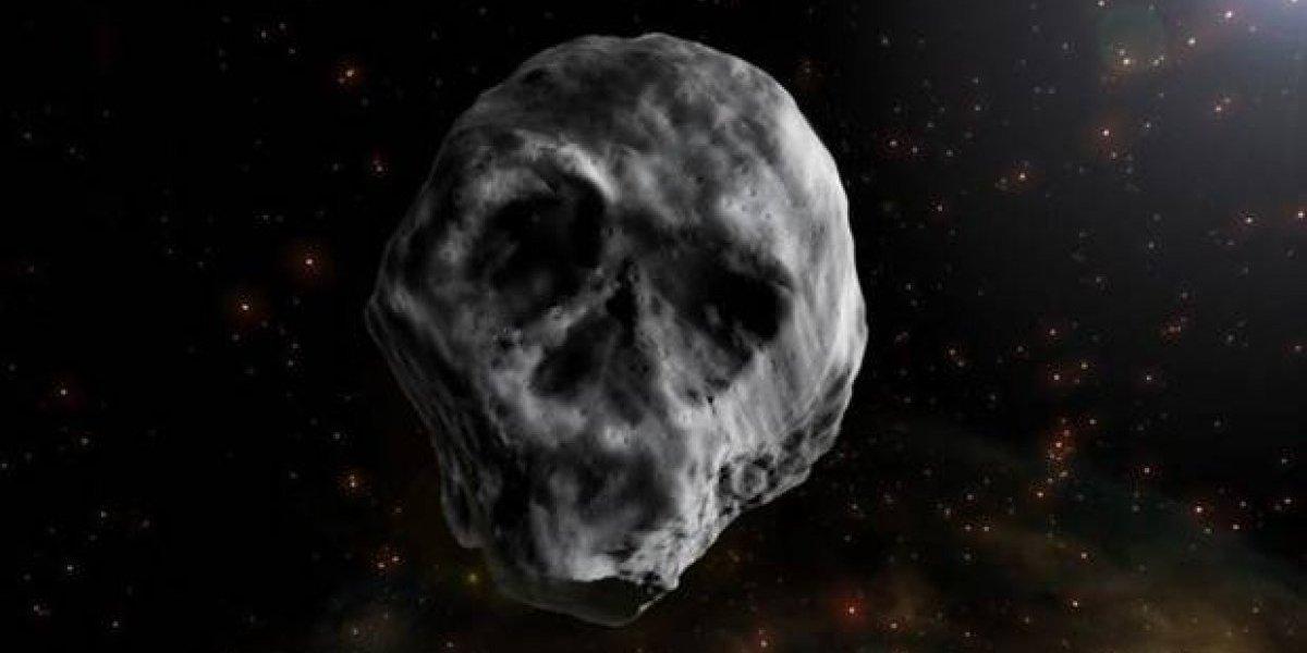 Asteroide 'caveira' se aproximará da Terra esse ano