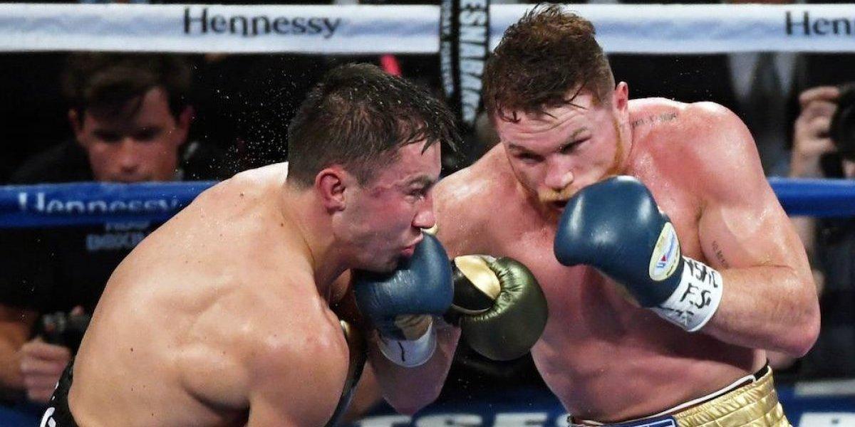Canelo vs Golovkin fue reconocida como la mejor pelea del 2017