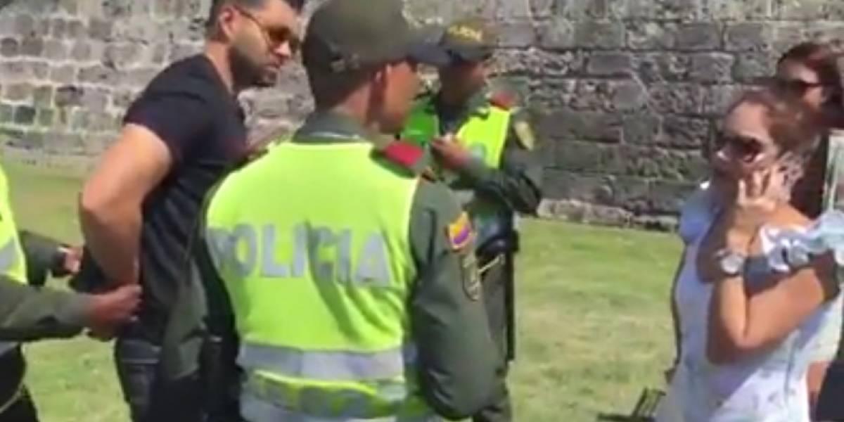 Video: El inusual operativo de policía que acabó en propuesta de matrimonio
