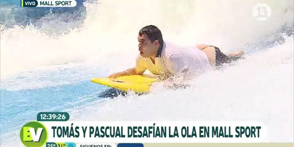 """El involuntario y divertido """"cara pálida"""" del notero del """"Bienvenidos"""" de Canal 13"""