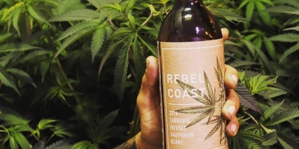 California vende el primer vino con marihuana en lugar de alcohol