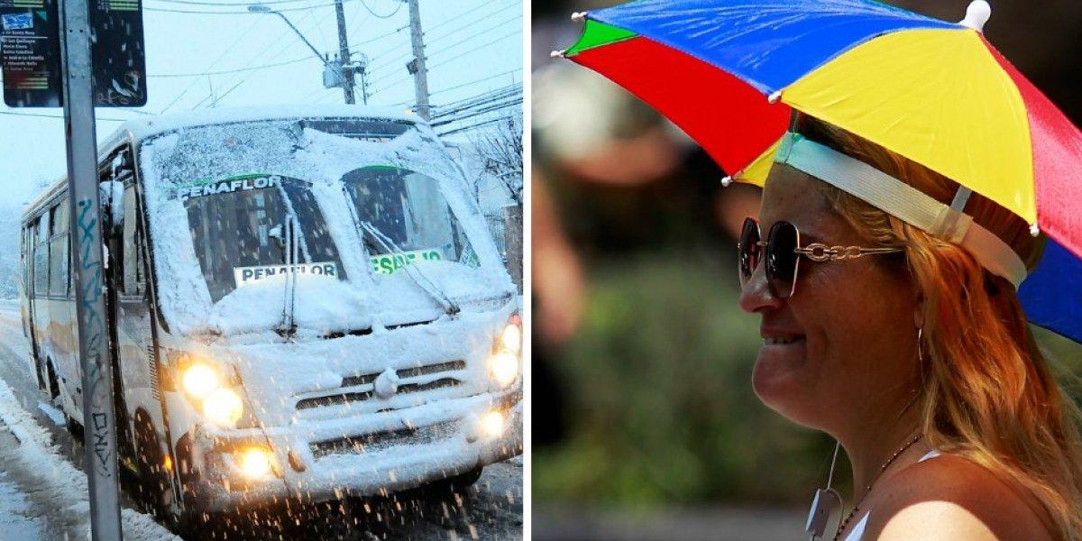El mundo se volvió loco: expertos advierten veranos e inviernos con temperaturas cada vez más radicales en Chile