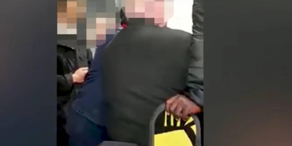 Hombre intentó entrar sin pagar al metro y se le atascó el pene