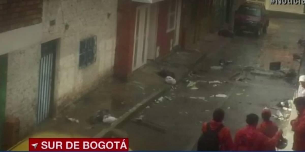 Al menos 98 viviendas afectadas por un vendaval en Bogotá
