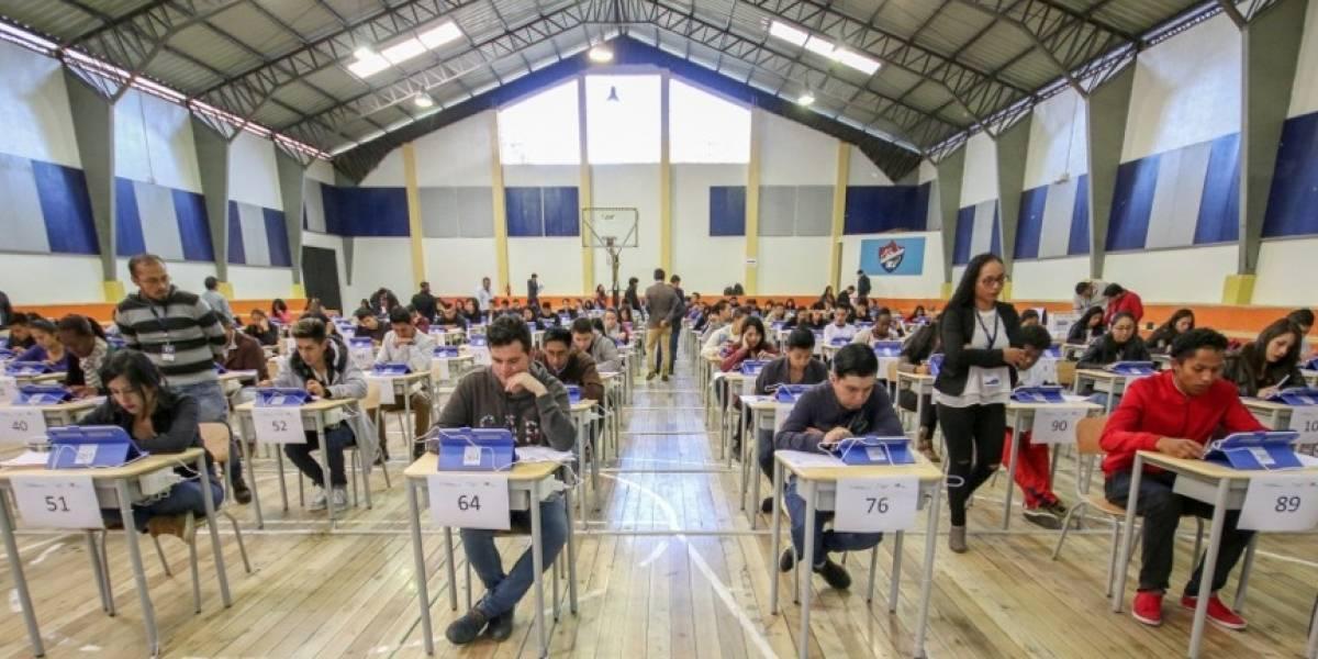 283.007 jóvenes eligieron sede, fecha y hora para rendir examen Ser Bachiller