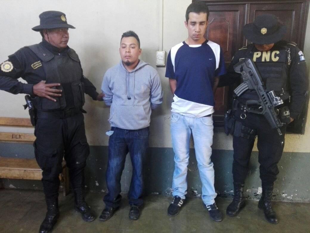 detenidos por ataque en Juzgado de Chimaltenango