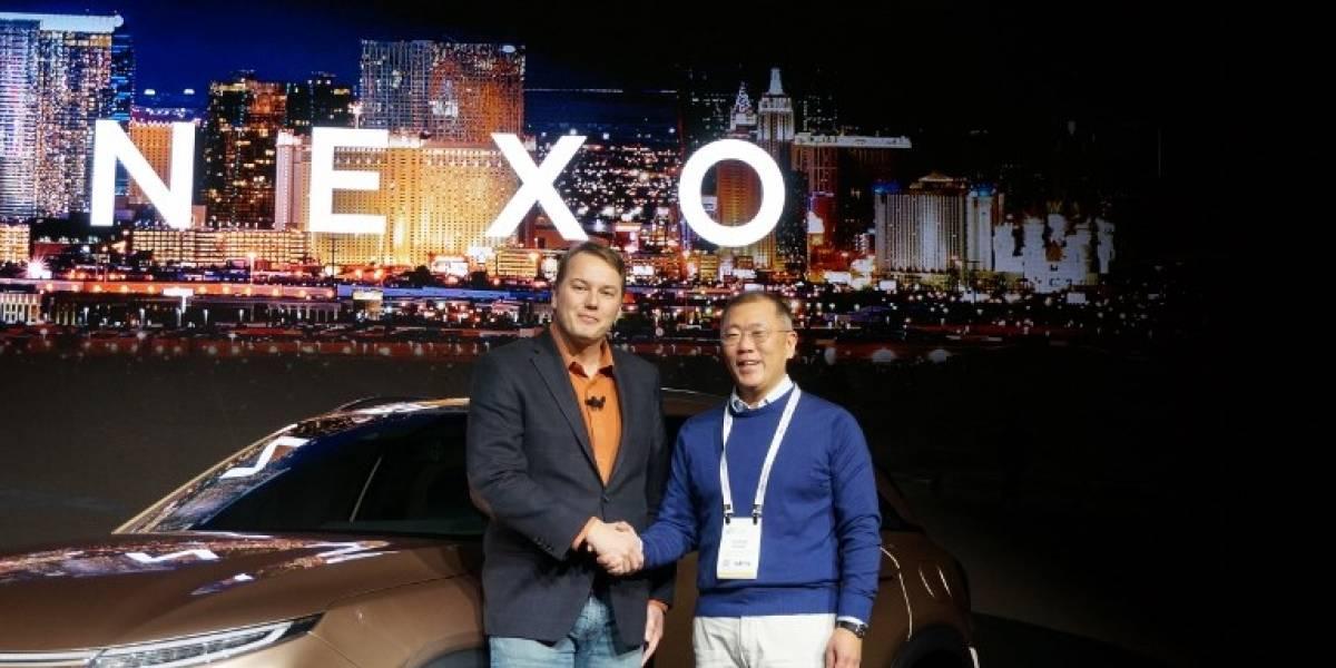 CES 2018: Hyundai apuesta por el hidrógeno en su nuevo automóvil