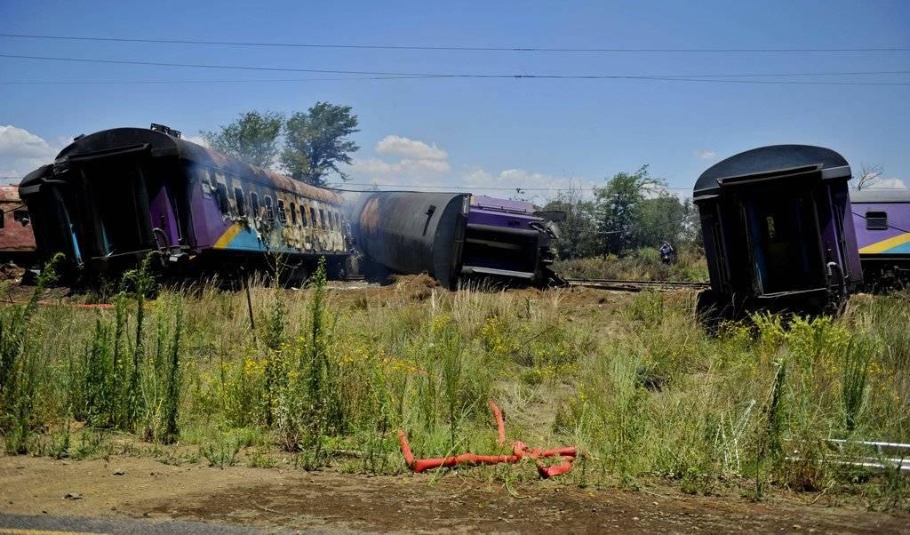 Choque de trenes en Sudáfrica
