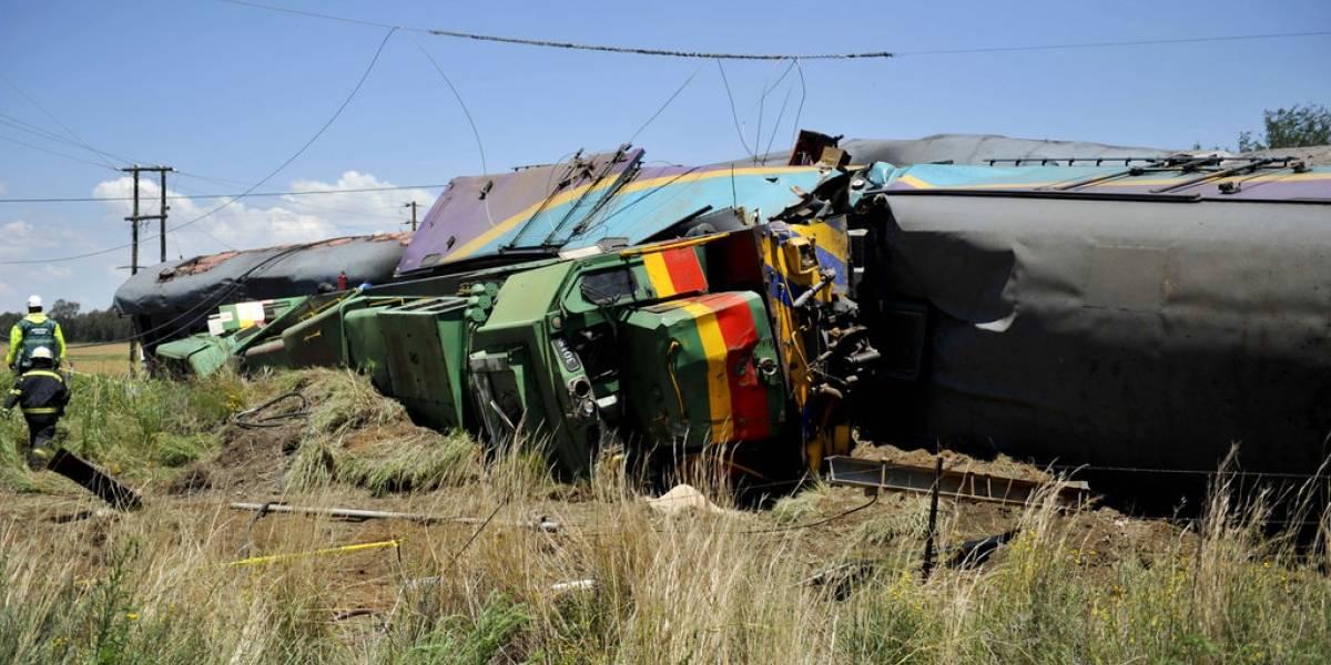Choque de trenes deja más de 200 heridos en Sudáfrica