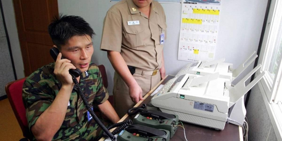 Las dos Coreas aceptan restablecer su línea telefónica militar directa