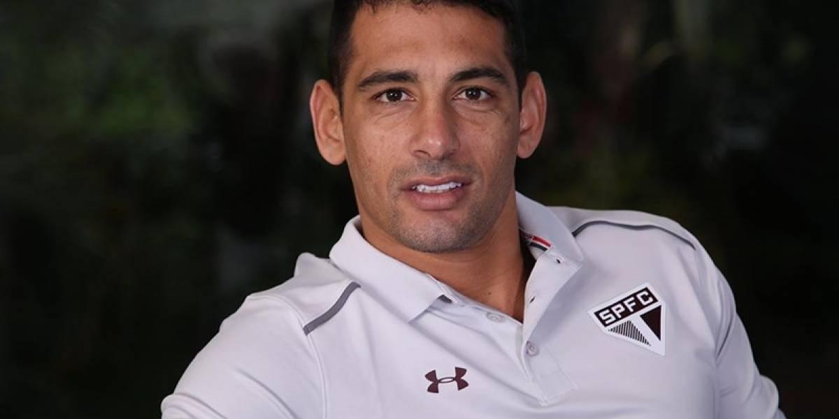 Diego Souza faz primeiro treino e Dorival Júnior esboça o São Paulo sem Cueva