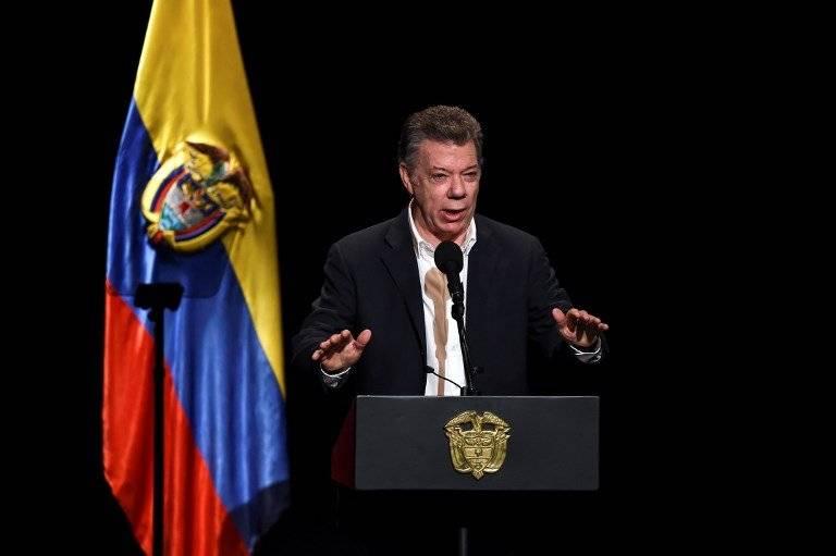 Juan Manuel Santos, presidente colombiano
