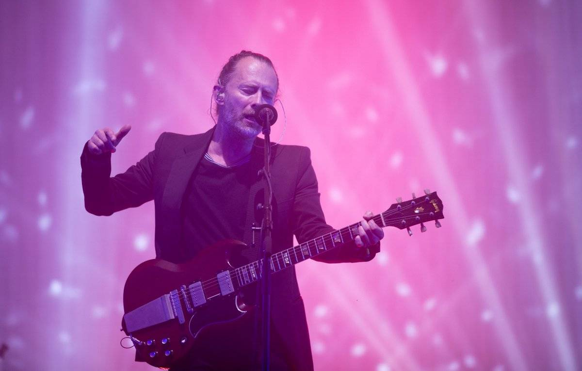Thom Yorke lidera o Radiohead