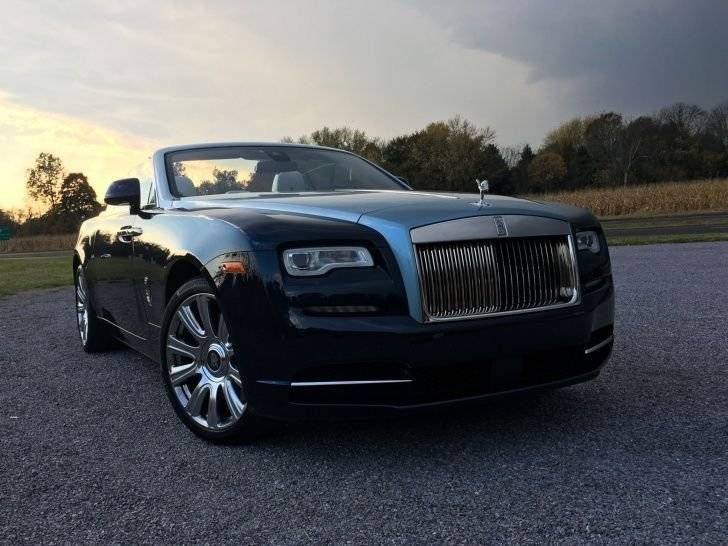 Rolls-Royce Dawn 2017, carro de Galilea Montijo
