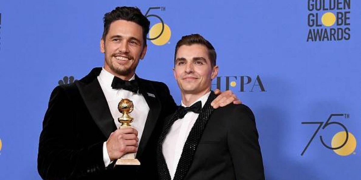 Tras ganar un Golden Globe, James Franco es acusado de abusos sexuales