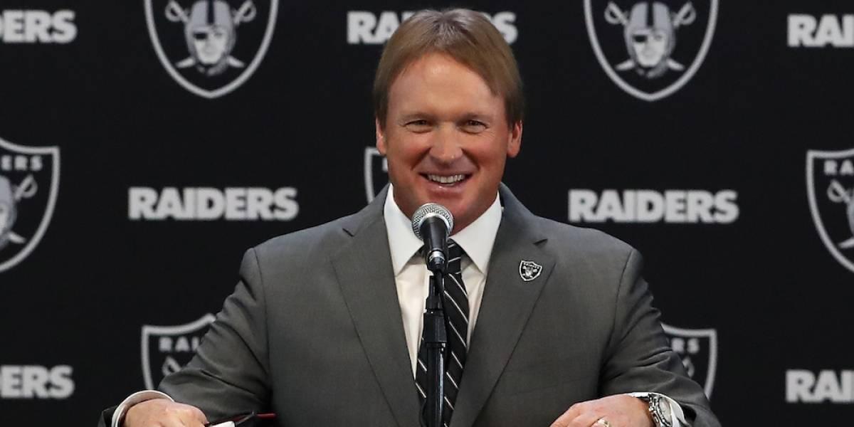 Jon Gruden regresa a Raiders 16 años después