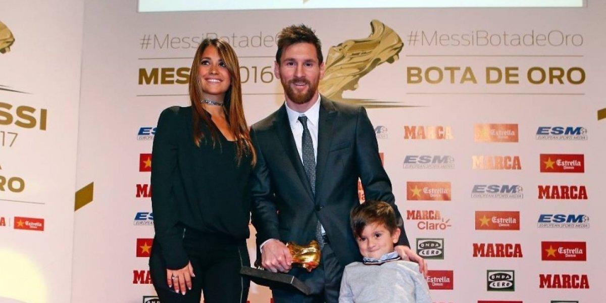 En la intimidad de su casa Messi muestra la foto más tierna de Antonela embarazada