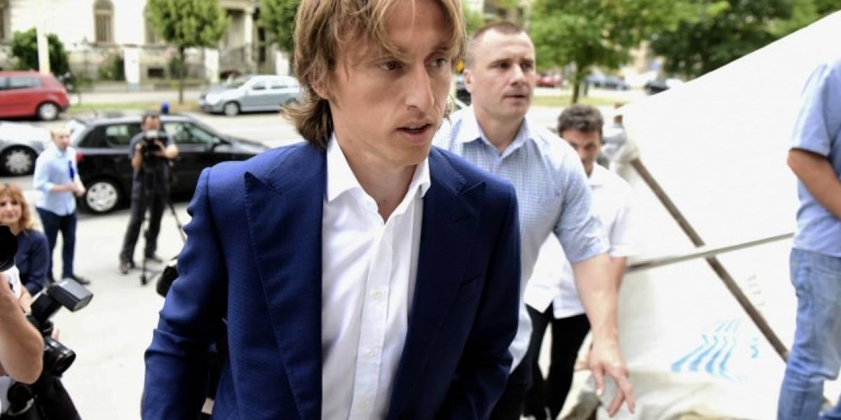 Modrić comparece ante la corte en causa por fraude tributario