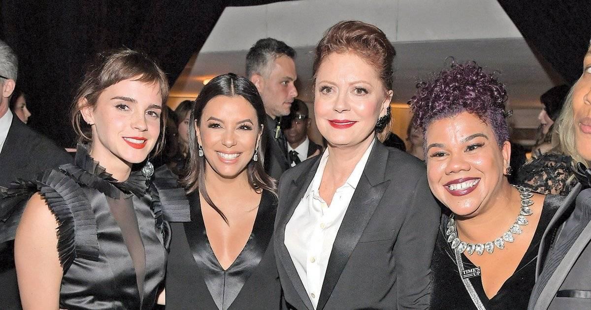 Emma Watson, Eva Longoria, Susan Sarandon e Rosa Clemente aderiram ao black total