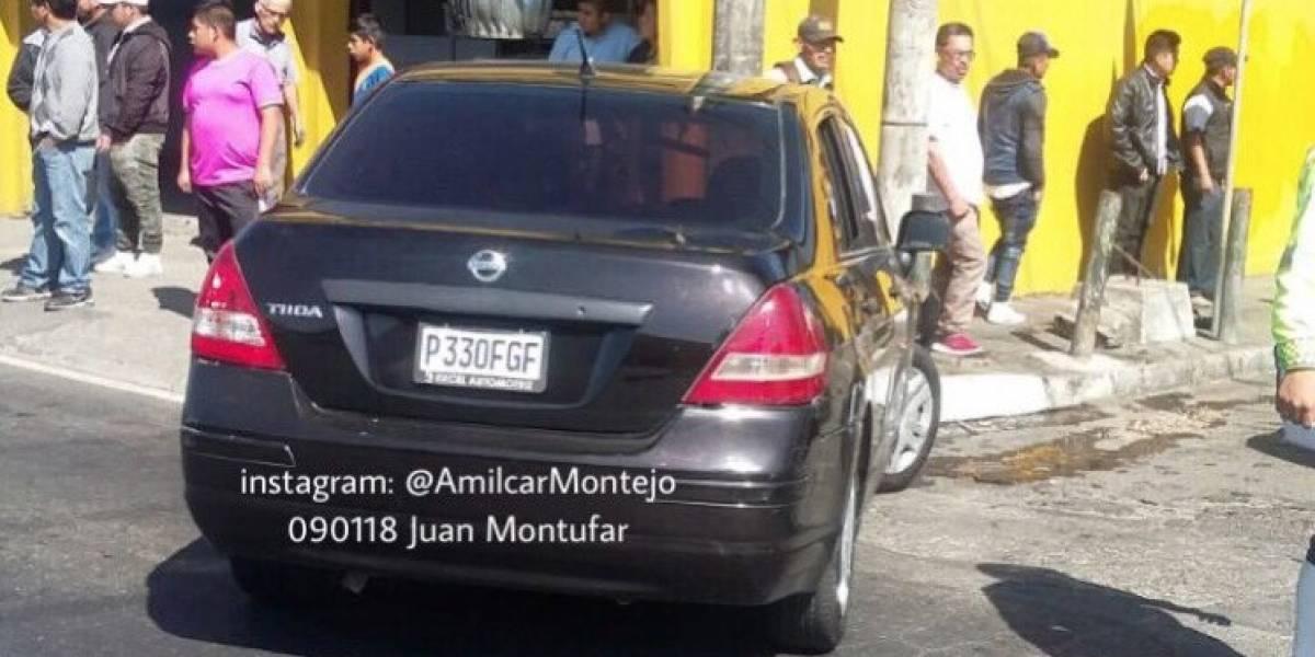 Amilcar Montejo reporta posible secuestro tras localizar a menor en un vehículo empotrado