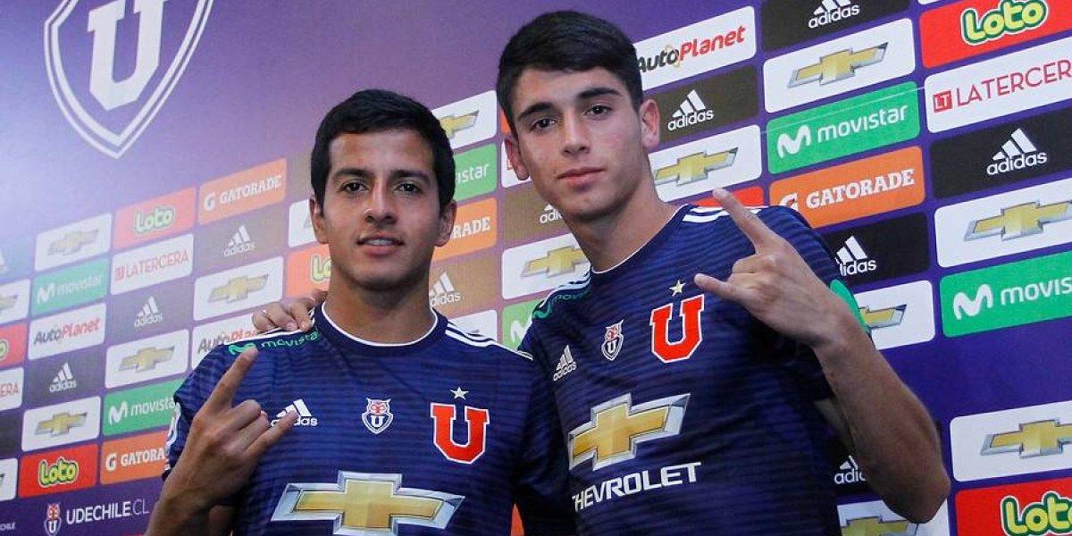 """Refuerzo de la U revive las palabras del capitán Herrera: """"Estoy feliz de llegar al equipo más grande de Chile"""""""