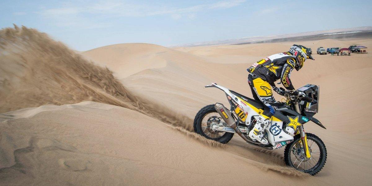 Dakar: Quintanilla acelera al 2º lugar y Cornejo sorprende entrando al Top 10 de las motos