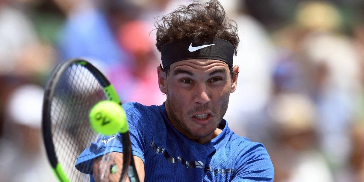 Rafael Nadal tuvo un amargo inicio de año en Melbourne