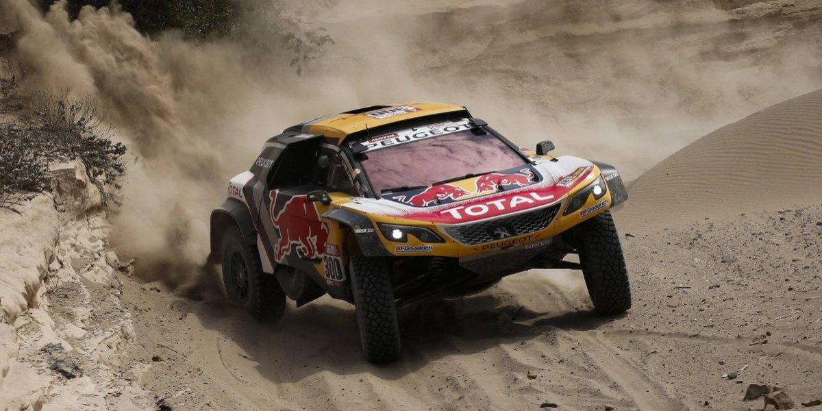 Peterhansel sigue liderando, Sunderland abandona el rally Dakar 2018