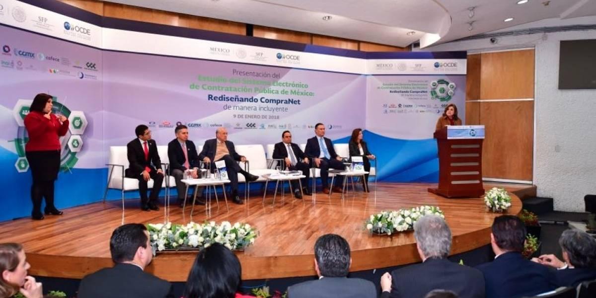 OCDE expone ineficiencia de CompraNet para transparentar contrataciones del gobierno
