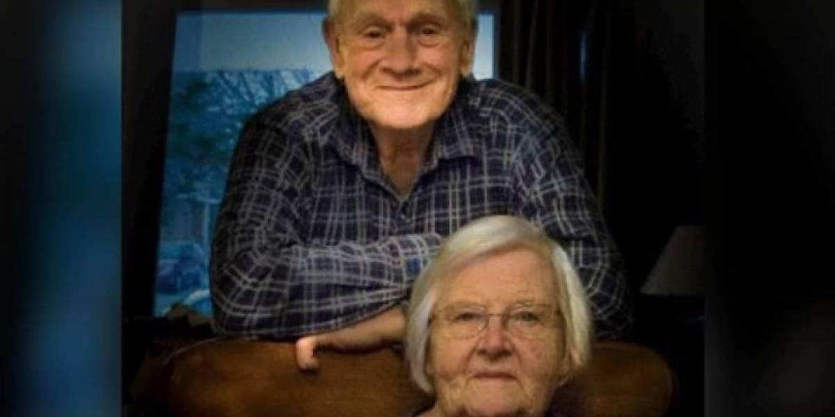 Quiso rescatar a su esposo, pero murió por las temperaturas extremas
