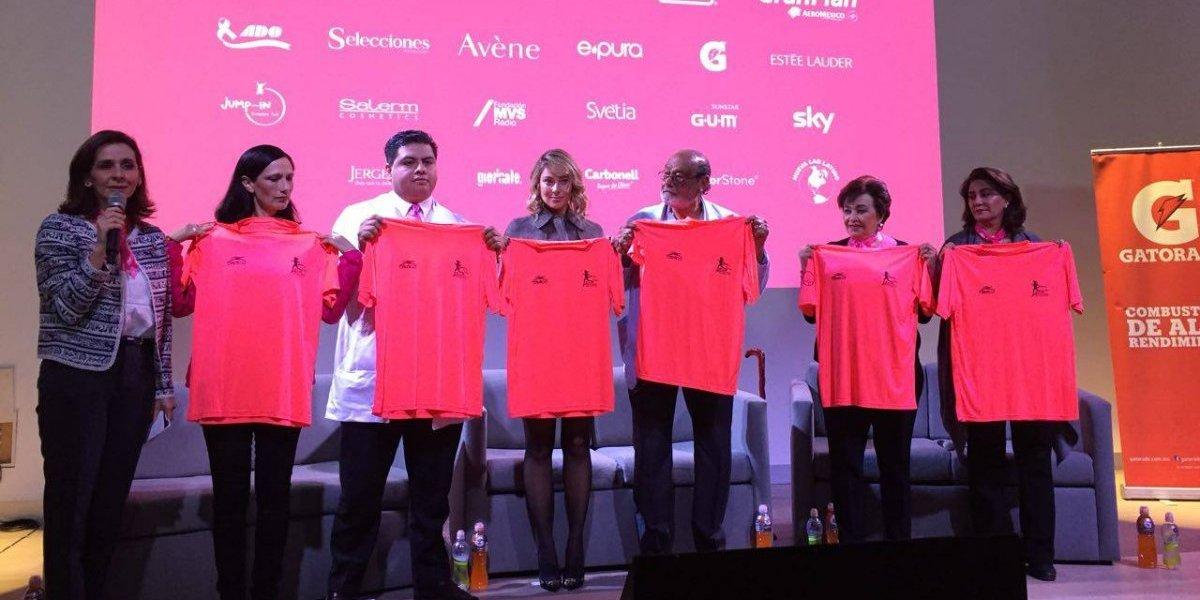 VIDEO: Huppenkothen presenta la carrera FUCAM en apoyo a la prevención de cáncer de mama