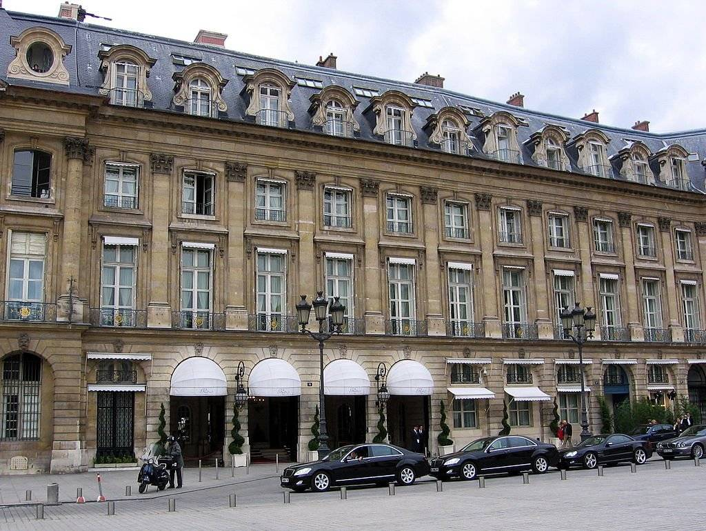 Hotel Ritz em Paris