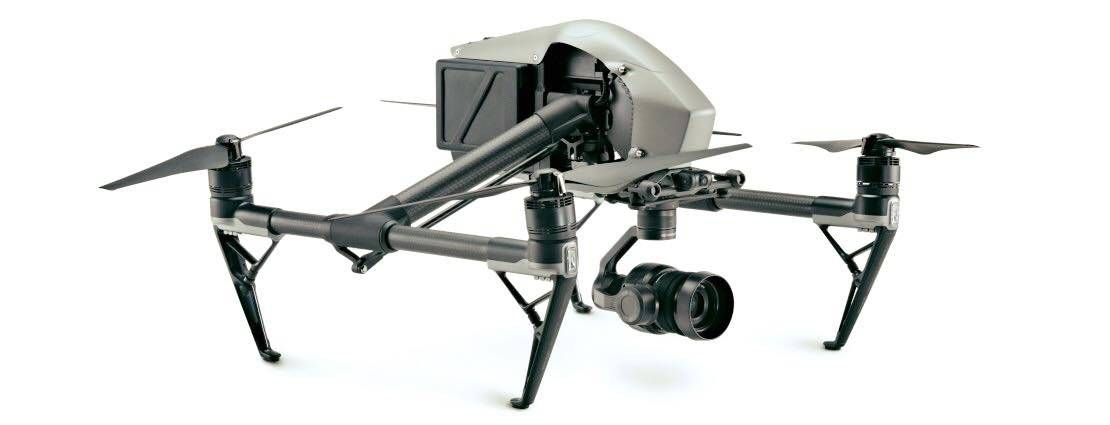 Dron modelo DJI Inspire 2