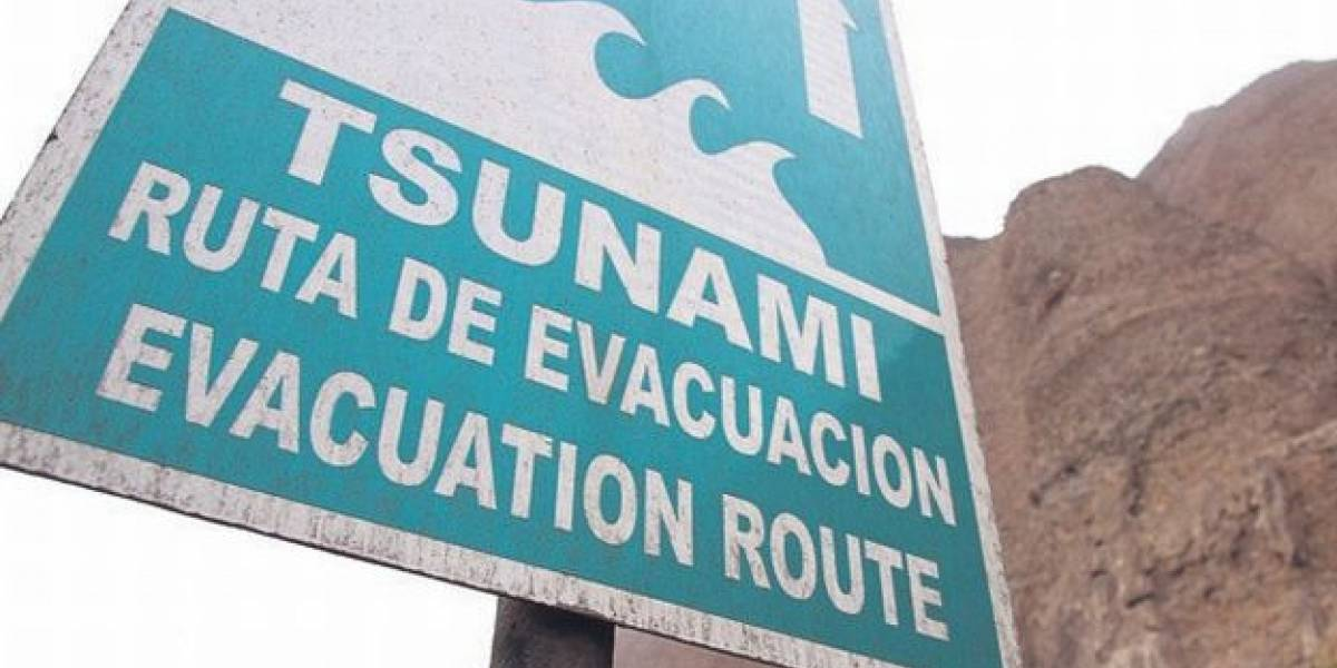 Lo que debes hacer en caso de un tsunami