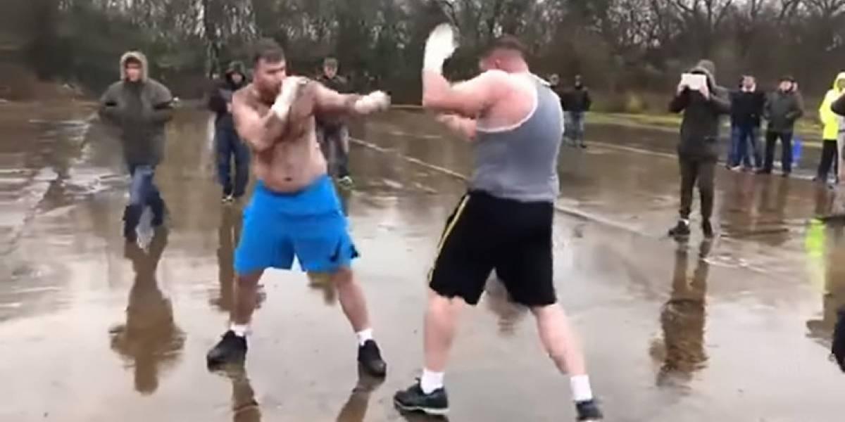 'Hulk' contra 'Big Foot': Pelea clandestina de 80.000 dólares