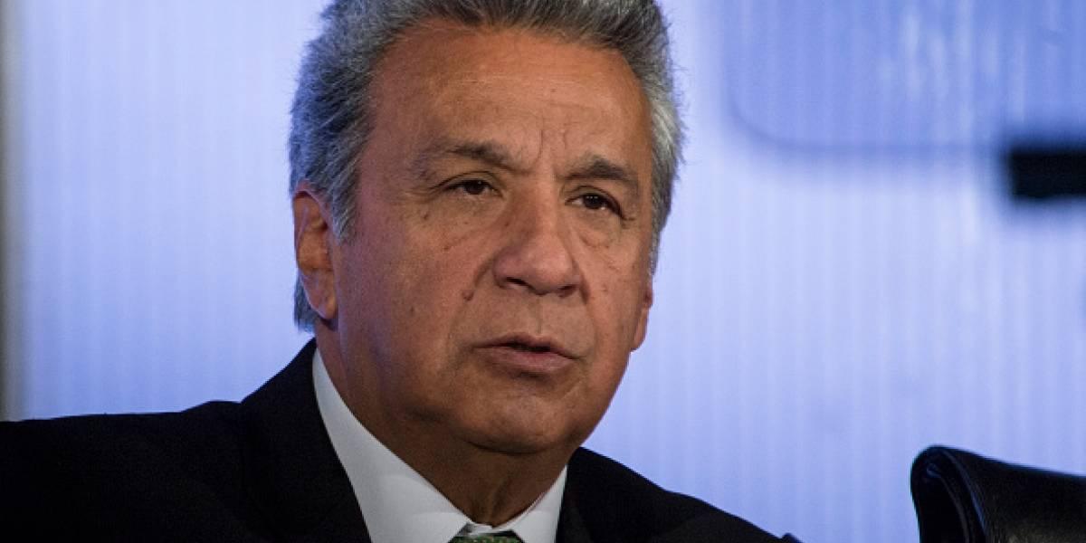 Lenín Moreno formuló una invitación al Foro de Economía y Finanzas Públicas para dialogar