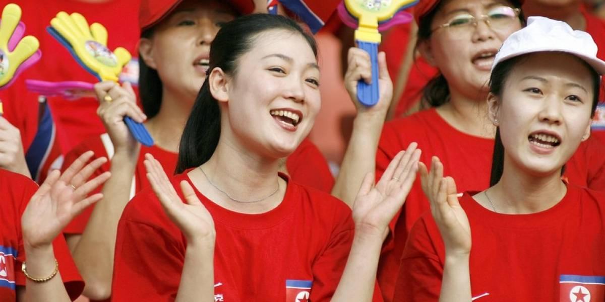 As cheerleaders que são parte da estratégia diplomática da Coreia do Norte