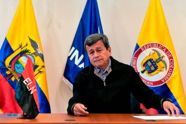 Pablo Beltrán, en Ecuador, noviembre 2017