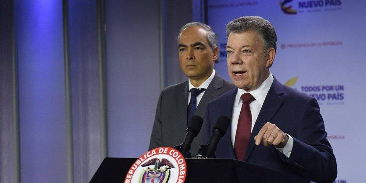 ¡Ventana de paz! Santos ordena reactivar conversaciones con ELN para cese al fuego