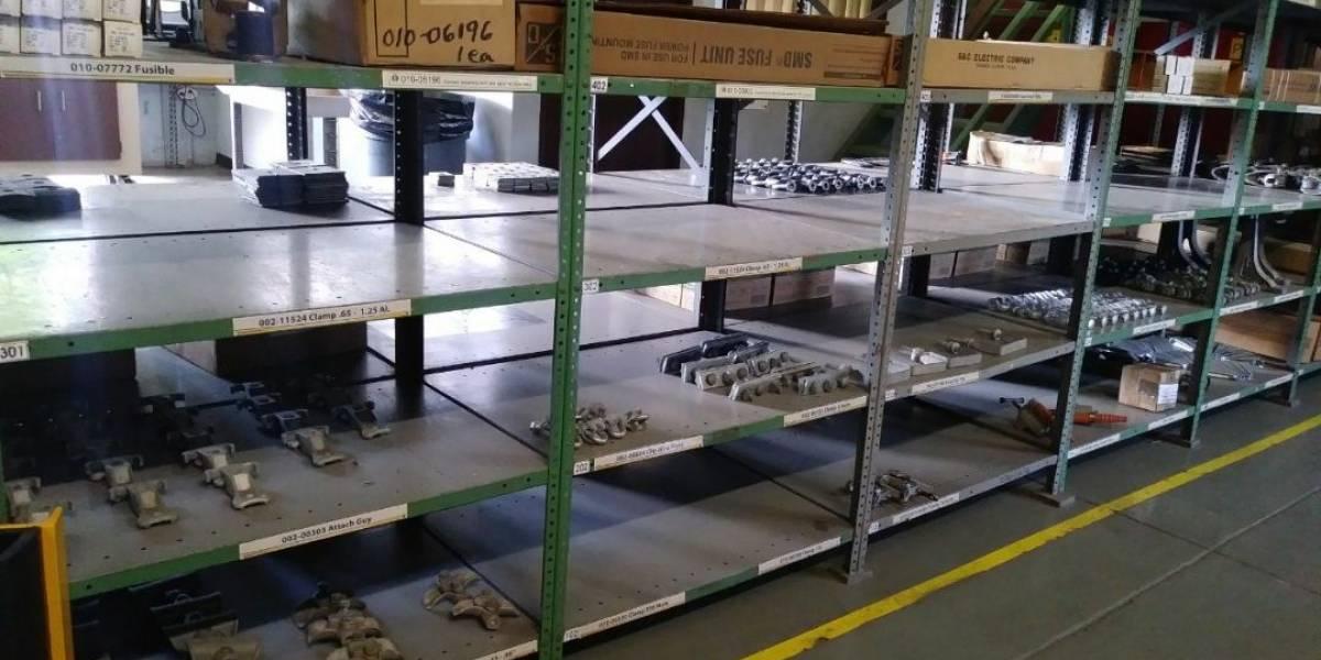 Oficiales armados participaron en la incautación de materiales en almacén de AEE