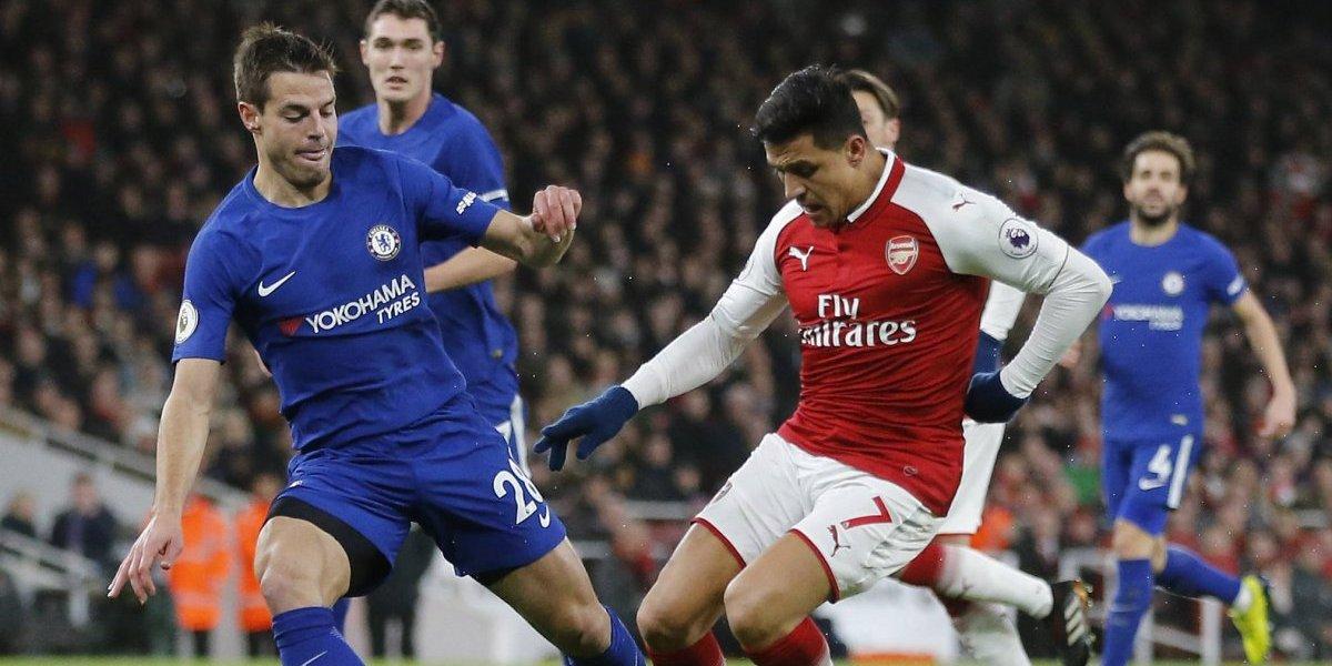 Minuto a minuto: Alexis es suplente en Arsenal ante Chelsea por la Copa de la Liga