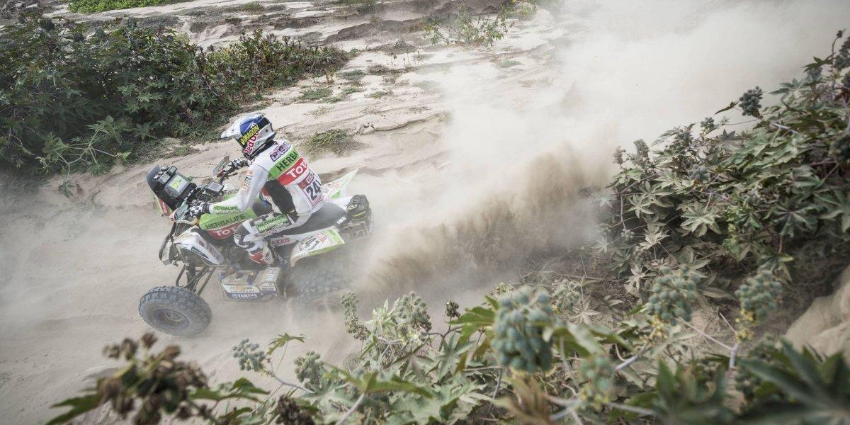 El campeón de cuatriciclos le dijo adiós al Dakar 2018 — Uno menos
