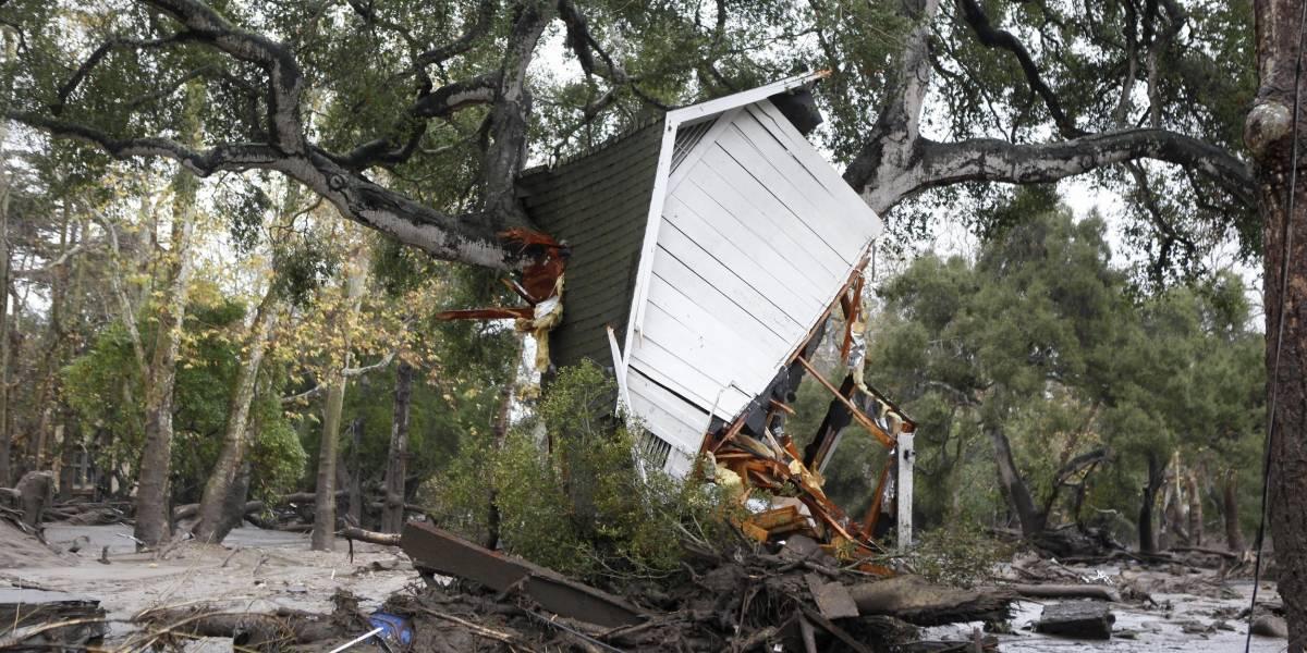 Derrumbes de lodo matan a 15 personas en California