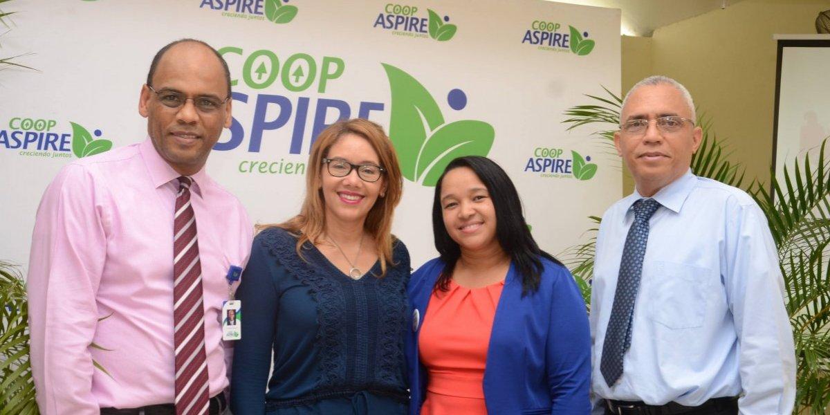 """#TeVimosEn: Coop Aspire realiza con emprendedoras del programa """"Aspirando Juntas"""""""