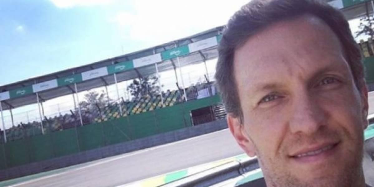 Ex-piloto de Fórmula 1 Luciano Burti está namorando jornalista da Globo, diz colunista